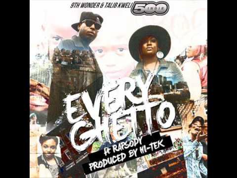Talib Kweli Ft. Rapsody- Every Ghetto [Instrumental]
