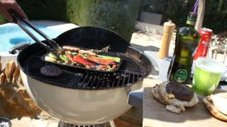 Weber one touch Premium 56cm kettle with Craycort grill part 2