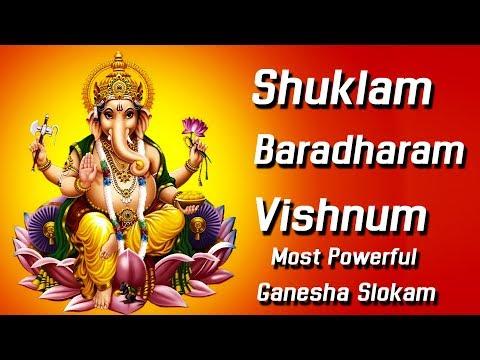 suklam-baradharam-vishnum-most-powerful-slokam-||-ganapathi-mantram-||