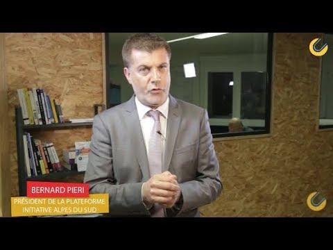 Bernard Pieri , Président de la Plateforme Initiative Sud Alpes // Rencontres E-Commerce 2017