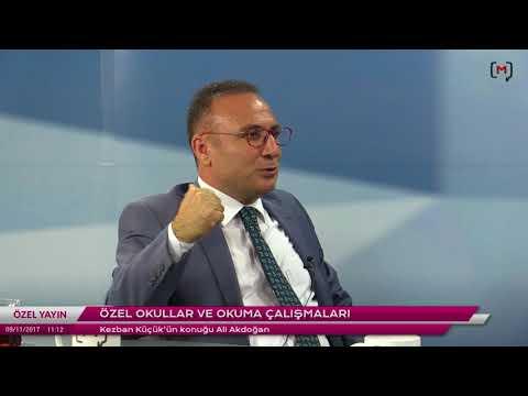 Okuma Kültürleri: Özel okullar ve okuma çalışmaları Konuk: Ali Akdoğan