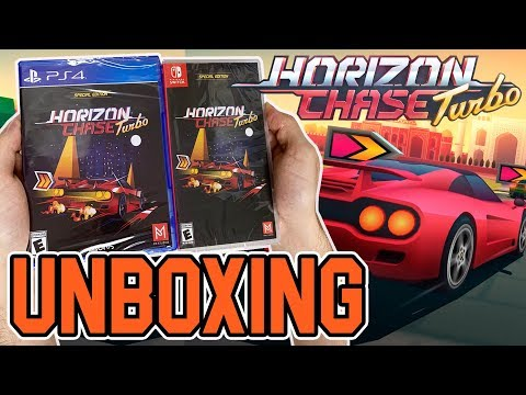 Horizon Chase Turbo (Special Edition) (PS4/Switch) Unboxing!!