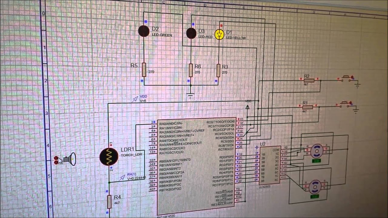 Coventry University Embedded Microprocessing Group project proteus ...