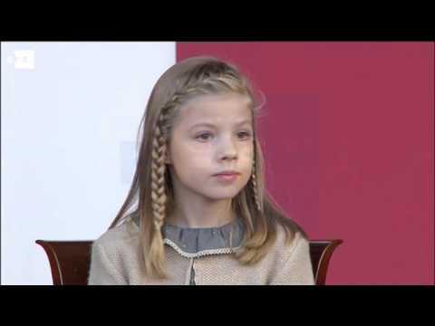 La princesa Leonor y la infanta Sofía, protagonistas en el día de la Hispanidad