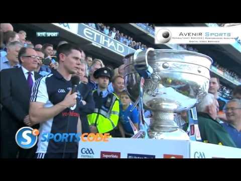 Stephen Cluxton All Ireland Winning Speech 2013.