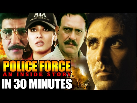 Police Force in 30 Minutes | Akshay Kumar| Raveena Tandon | Amrish Puri | Hindi Action Movie