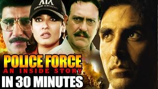 Latest Hindi Action Movie | Police Force | Showreel | Akshay Kumar |  Raveena Tandon | Amrish Puri