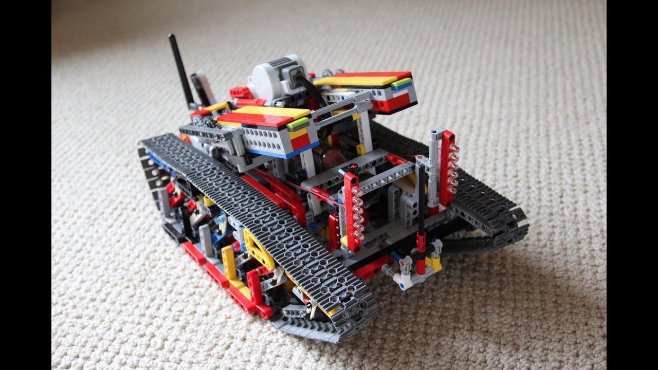 Arduino lego tank youtube