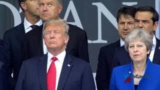 Trump reclama a cumplir compromisos militares a aliados de la OTAN
