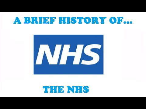 A Brief History of the National Health Service