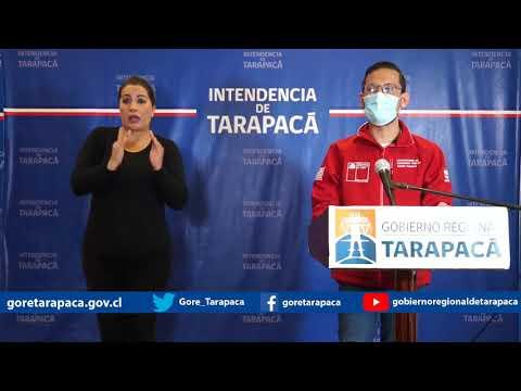 Punto de prensa 01 de agosto de 2020 - Gobierno Regional de Tarapacá