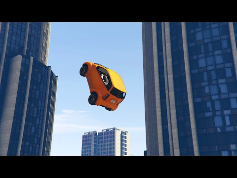INSANE MINI CAR STUNTS! (GTA 5 Funny Moments)