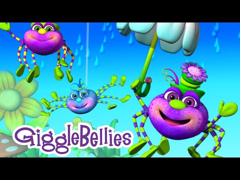 Itsy Bitsy Spider | Nursery Rhymes | GiggleBellies