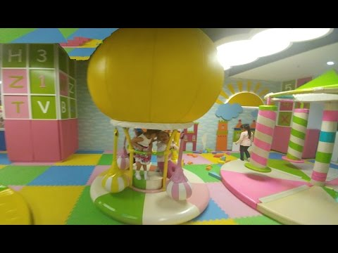 Mark Antalya playland elif ve melisa keyifli oyunlar, eğlenceli çocuk videosu