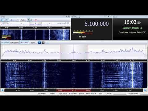 11 03 2018 Radio Afghanistan in Urdu to SoAs 1603 on 6100 Kabul