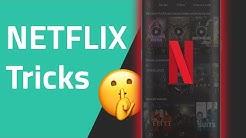 10 Netflix Tricks, die du kennen musst!