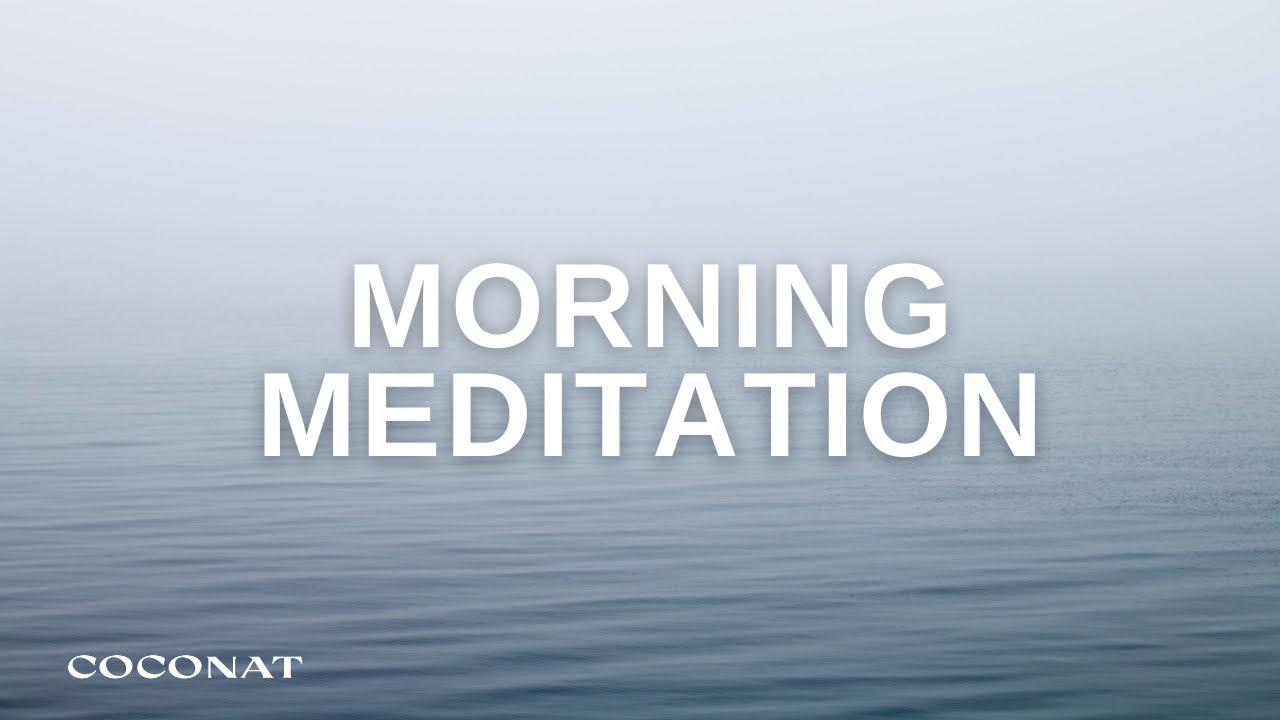 10 MINUTE Morning Meditation for Positive Energy & Gratitude | Music Only