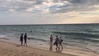 Пхукет. Таиланд. Июнь 2017. Закат на Пхукете! Пляж карон!