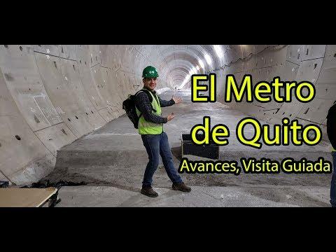 El Metro de Quito 2018 Estacion Alameda. Albert Oleaga. Un venezolano en #Ecuador