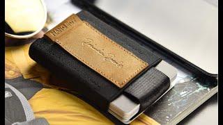 Portefeuille aluminium big stockholm wallet Noir
