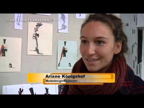 Designstudenten der Fachhochschule Dresden beteiligen sich am Fashion-Design Festival Dresden