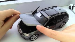 Обзор маштабних моделей BMV X5 , Audi R8))