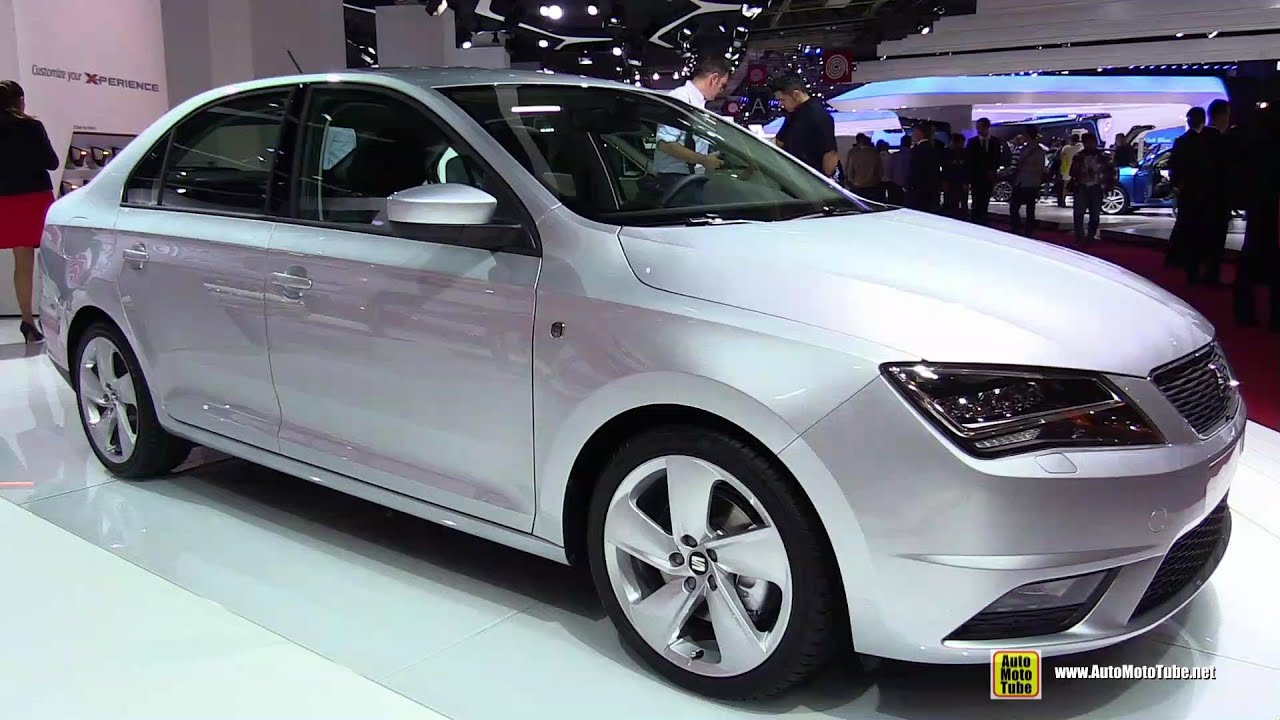 2015 seat toledo tdi exterior and interior walkaround 2014 paris auto show youtube. Black Bedroom Furniture Sets. Home Design Ideas