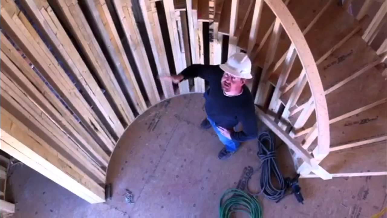 How To Build A Circular Staircase Youtube