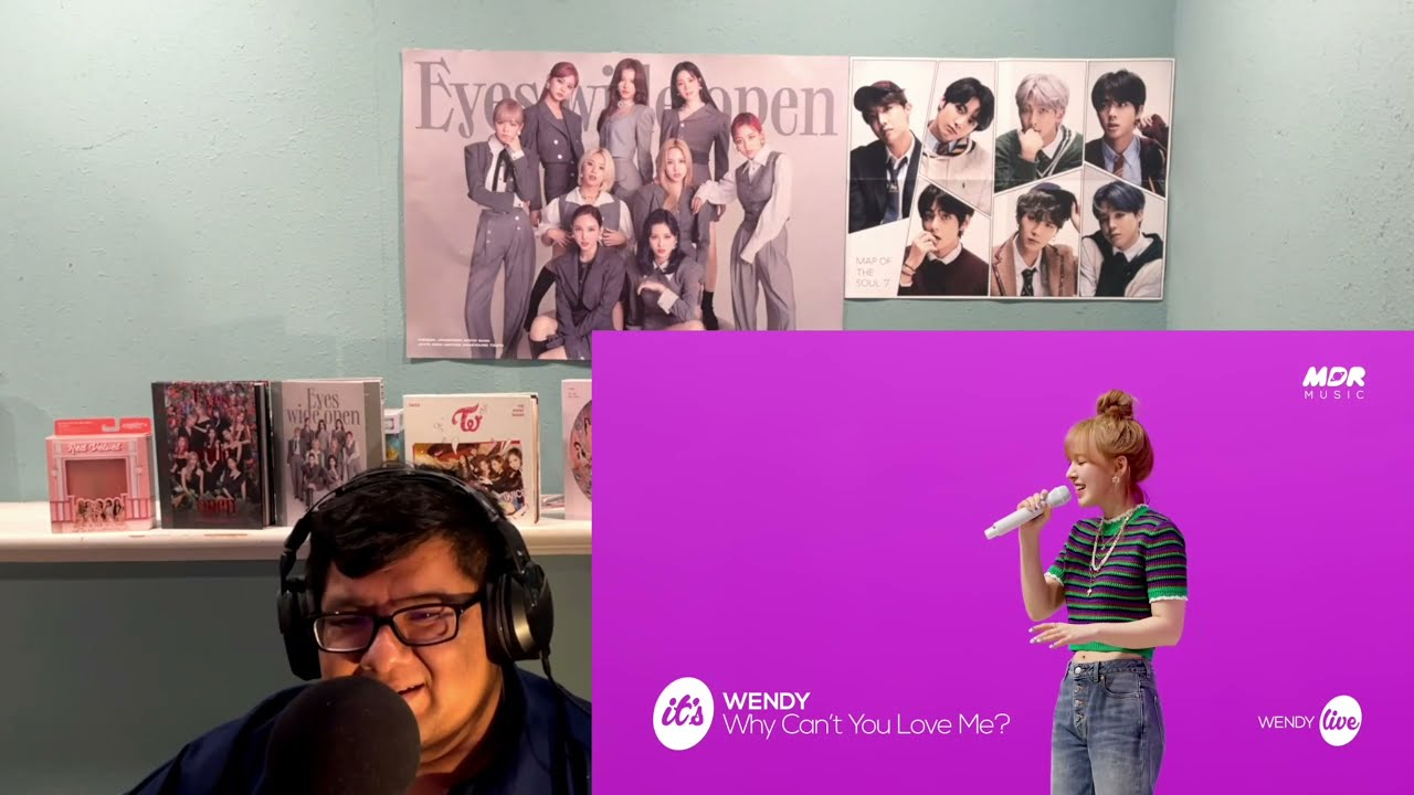 Download Wendy (Red Velvet)  - Why Can't You Love Me Reaction JKReacts