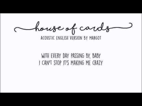 """BTS - """"House Of Cards"""" (acoustic english cover by Margot D.R)"""