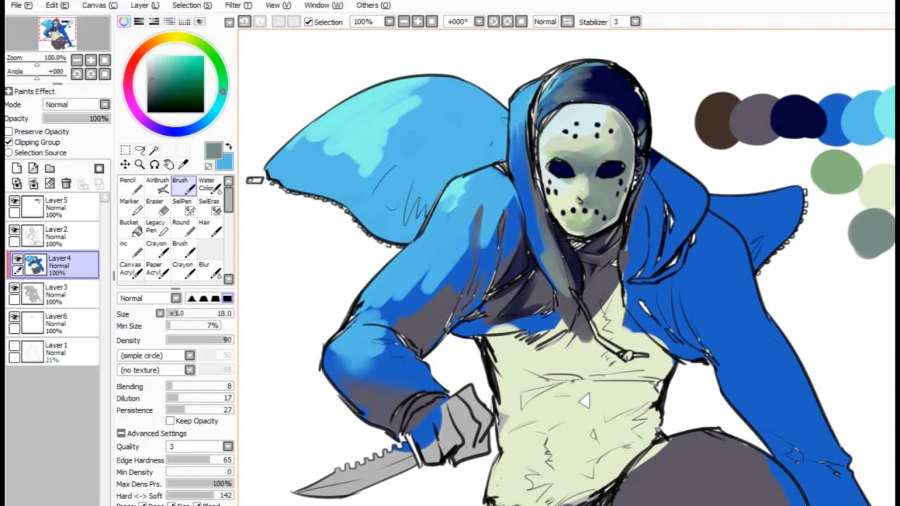 Drawing a killer h20 delirious - YouTube H20 Delirious Fan Art