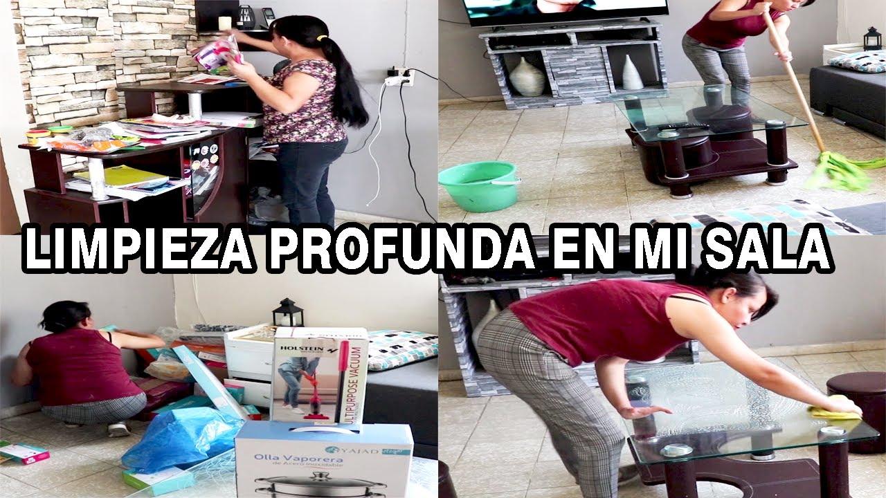 LIMPIEZA PROFUNDA EN MI SALA /MARY DIY /