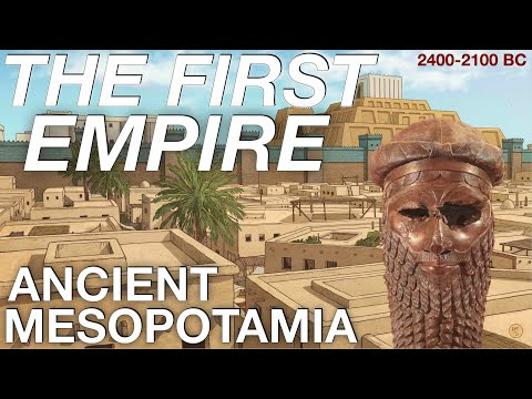 The Entire History of the Akkadians // Ancient Mesopotamia D