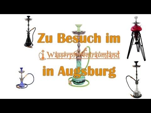Zu Gast bei Amy Deluxe im Wasserpfeifentraumland Augsburg