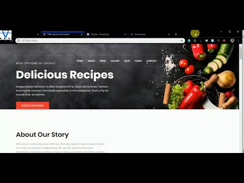 Django Food Delivery App Part 1 | Django Live Project | All In One Code