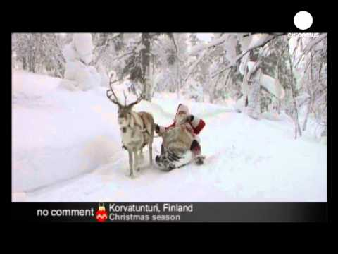 Santa Claus In Lapland - No Comment