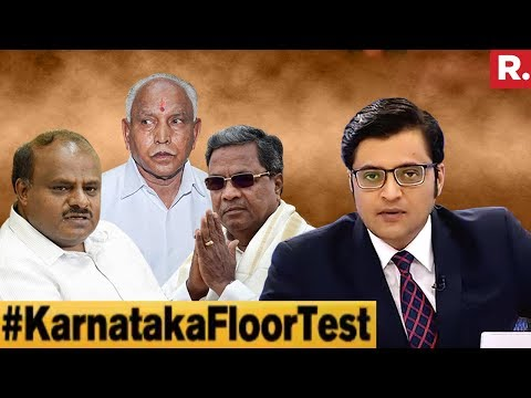 Who Will Win The Karnataka Super Poll On Saturday? | The Debate With Arnab Goswami