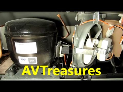 ge hotpoint refrigerator wiring diagram 2004 ford explorer audio cleaning the condenser coil on my - youtube
