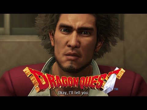 """Ichiban Explains The Whole """"Dragon Quest"""" Thing In YAKUZA LIKE A DRAGON On GameScape. (Inspiration) 