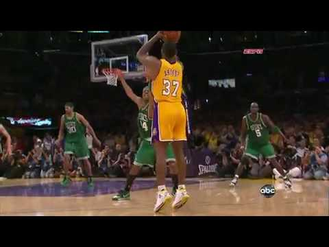Ron Artest Clutch 3-Pointer - Game 7 (Lakers Vs. Celtics) NBA Finals HD - YouTube