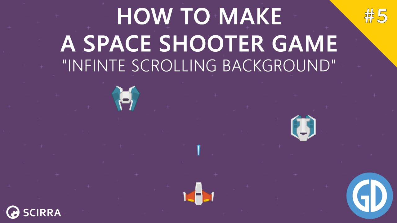 Construct 2 background image - How To Make A Space Shooter Game Infinte Scrolling Background Construct 2 Tutorial