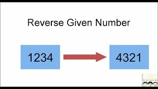 C Practical and Assignment Programs-Reverse given Number