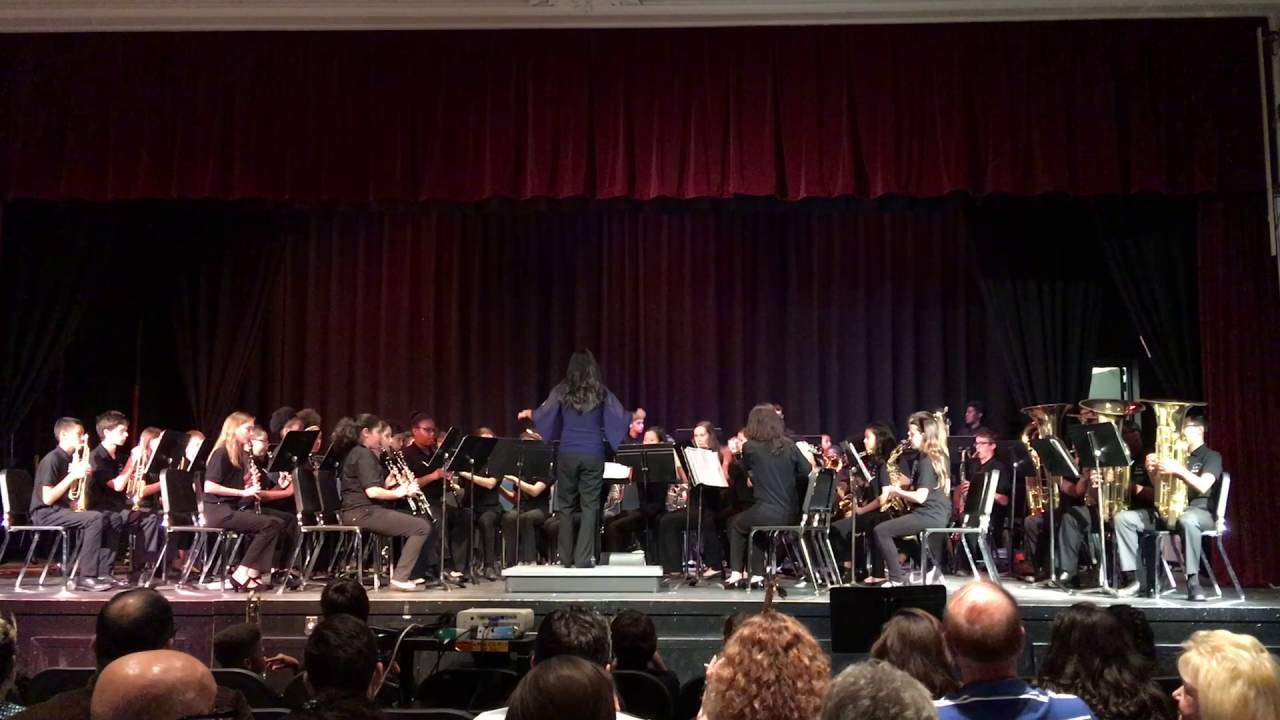 lakeview middle fl symphonic band just the way you are