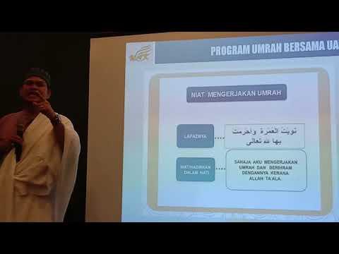 Niat Haji Bacaan dan artinya.