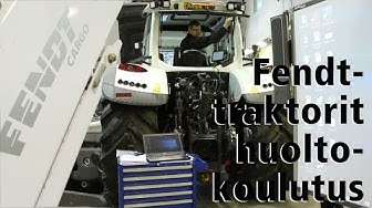 Fendt-traktorit huoltokoulutus
