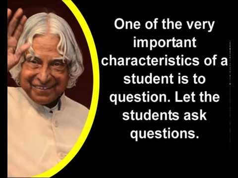 inspiration quotes of abdul kalam youtube