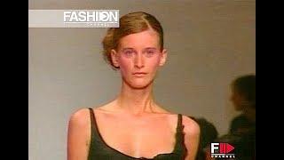 GENNY Spring Summer 2001 Milan - Fashion Channel