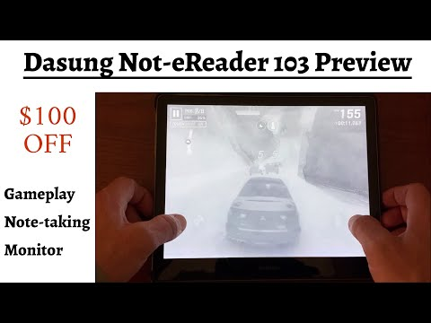 Dasung Not-Ereader 103 $100 Off + Video Preview by SOL Computer