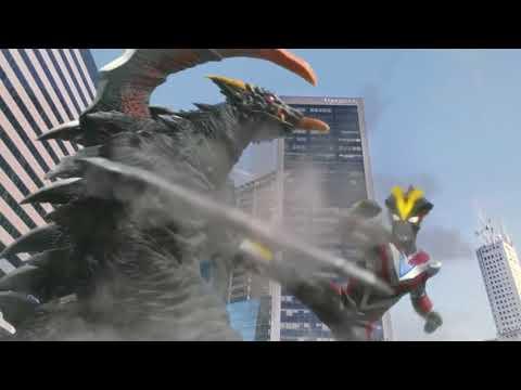 Ultraman Victory vs Tsurugi Demaaga - Ultraman X the Movie