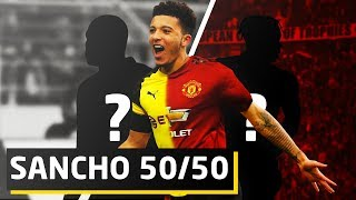 REPORTS: Sancho 50/50 To Sign For United   Man Utd Transfer News